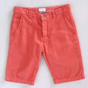 JECKERSON Women's Linen Blend Bermuda Shorts 32